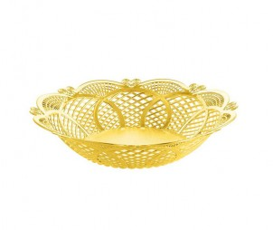 Electroplated Gold Hollow Tray