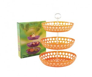 PS Oval 3 Tiers Tray