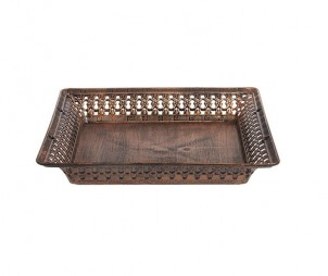 Square Archaized Tray