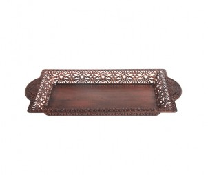 Rectangle Archaized Tray