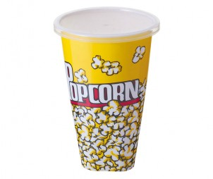 Square Popcorn Bucket+Lid